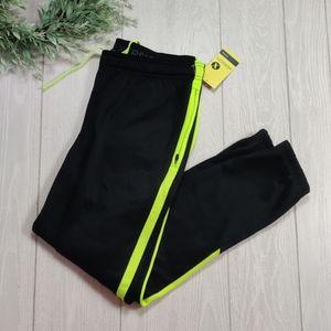 NWT Xersion lime stripe track sweat pants
